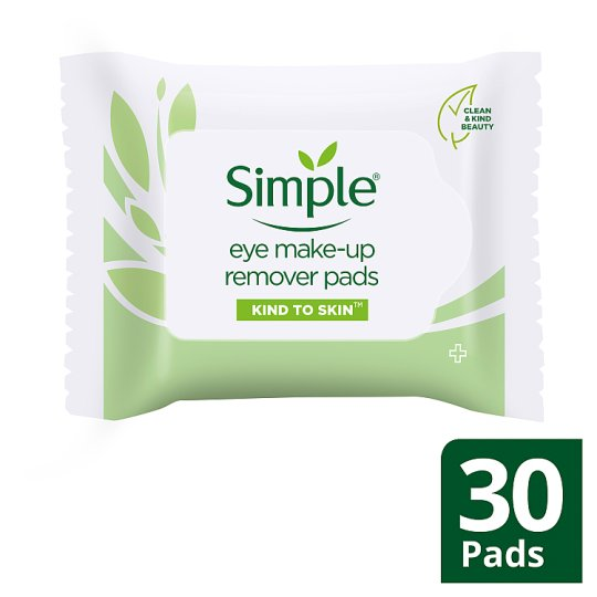 Simple Kind To Eyes Eye Make-Up Remover Pads 30S