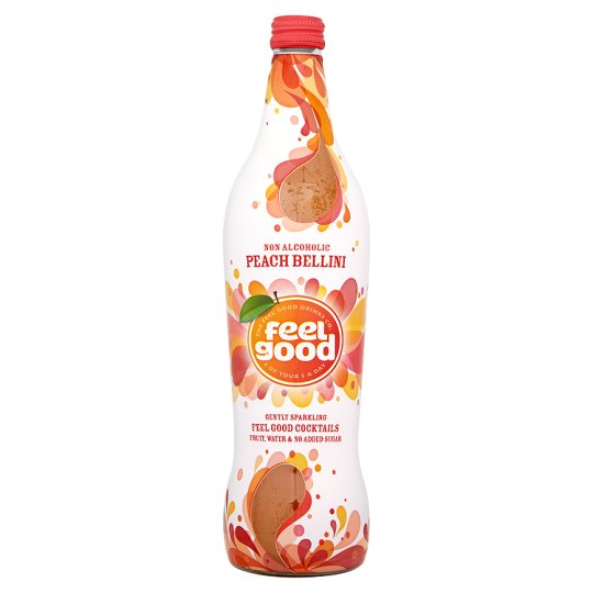 Feel Good Cocktails Peach Bellini 750Ml