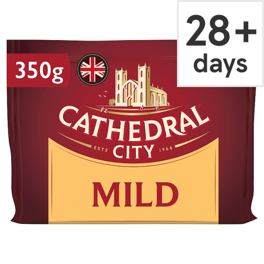Cathedral City Mild Cheddar Cheese 350 G