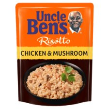 Uncle Bens Express Risotto Chicken And Mushroom Rice 250G