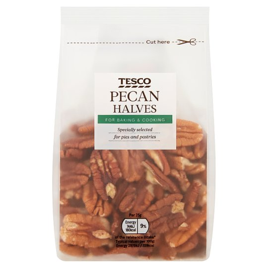 Tesco Pecan Halves 200G