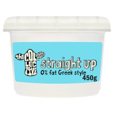 The Collective Straight Up 0% Live Yogurt 450G