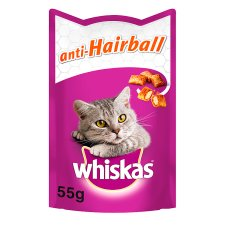 image 1 of Whiskas Anti Hairball Cat Treats 50G