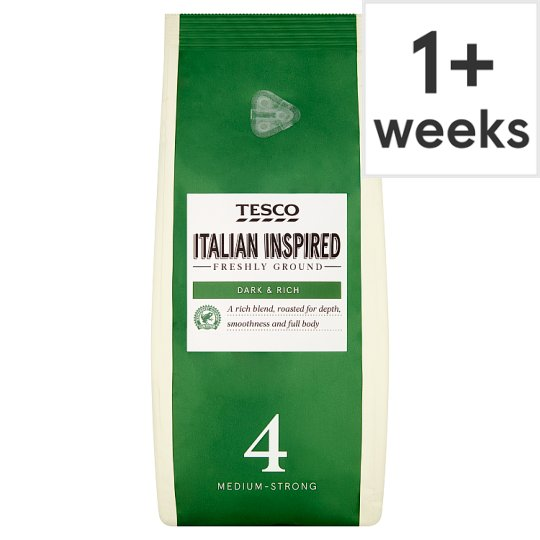 Tesco Italian Blend Ground Coffee 454G