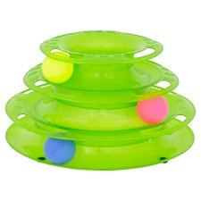 Meowee Cat Batting Ball Stack Toy