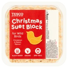 Tesco Bird Festive Suet Block 300G