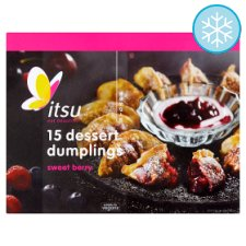 Itsu Dessert Dumplings Sweet Berry 203G