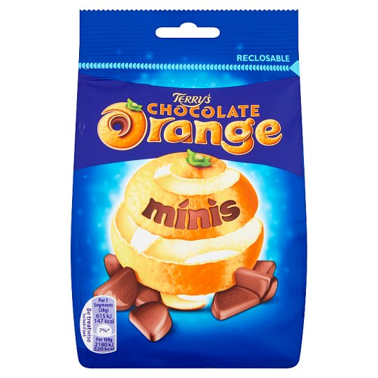 Terrys Chocolate Orange Minis Bag 125G