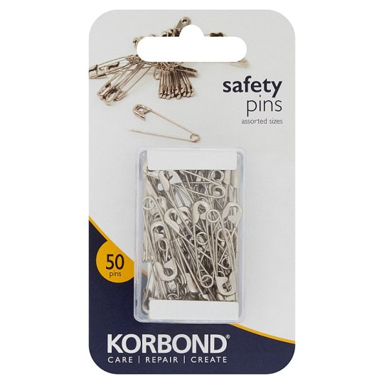 Silver Safety Pins