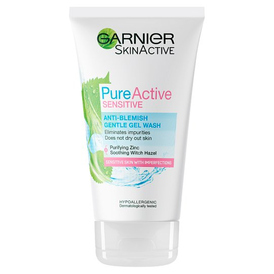 image 1 of Pure Active Sensitive Anti-Blemish Face Wash 150Ml