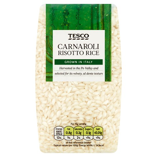 Tesco Carnaroli Risotto Rice 500G