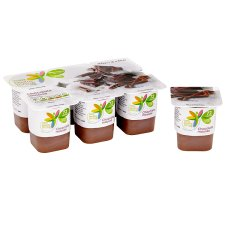 image 2 of Tesco Healthy Living Chocolate Mousse 6 X60g