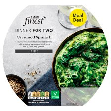 Tesco Finest Creamed Spinach 250G