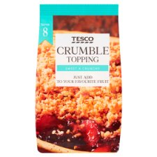 Tesco Family Size Crumble Mix 450G
