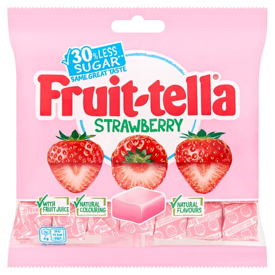 image 1 of Fruitella Reduced Sugar Strawberry 120G