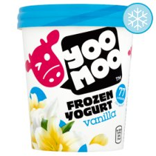 Yoomoo Vanilla Frozen Yogurt 500Ml