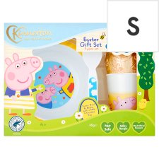 Peppa Pig Easter Egg And Meal Time Set 45G