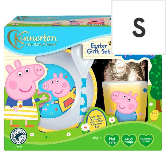Peppa pig easter egg and meal time set 45g tesco groceries peppa pig easter egg and meal time set 45g negle Gallery