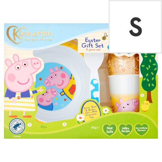 Peppa pig easter egg and meal time set 45g tesco groceries peppa pig easter egg and meal time set 45g negle