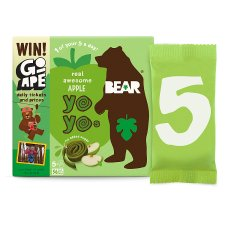 Bear Pure Fruit Yoyo Apple 5 X 20G