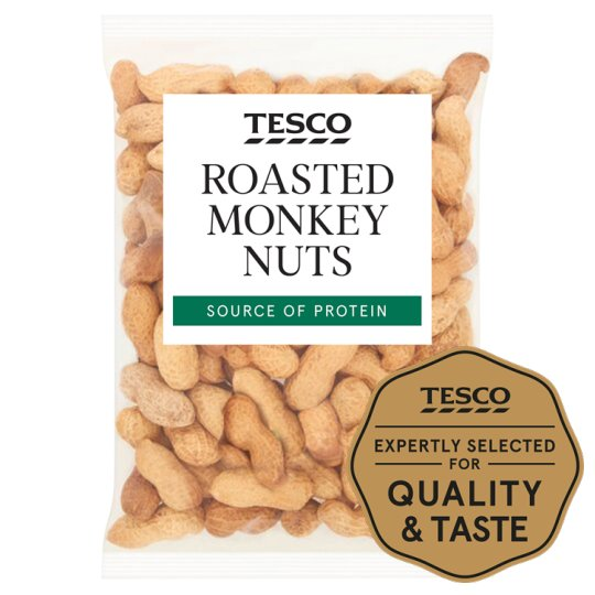Tesco Roasted Monkey Nuts 250G