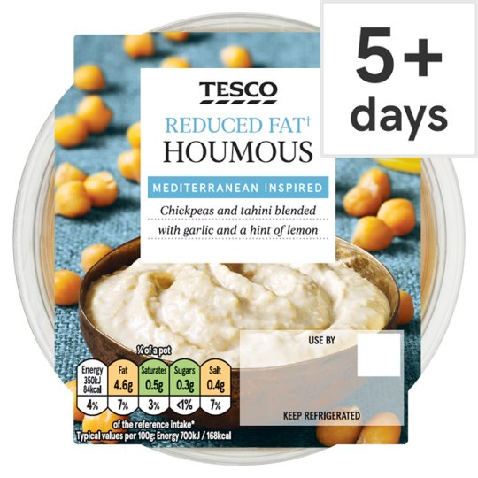 Tesco Reduced Fat Houmous Dip 200G