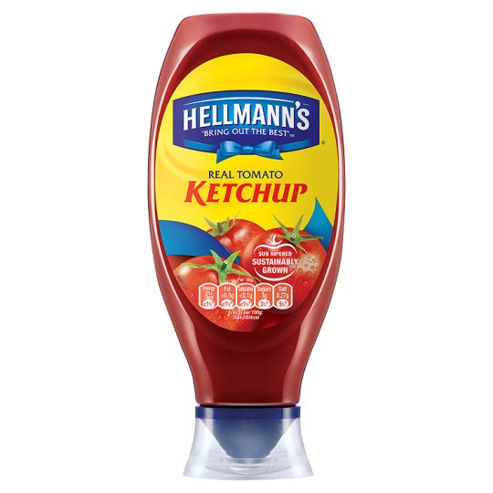 Hellmanns Tomato Ketchup Squeezy 750Ml
