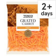image 1 of Tesco Grated Carrot 200G