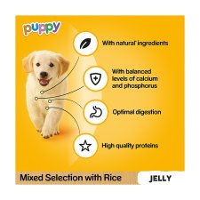 Pedigree Pouch Jelly Puppy Pack 12X100g
