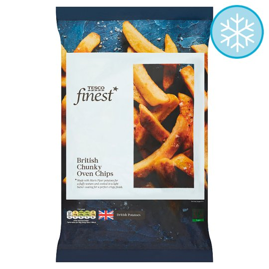 Tesco Finest British Chunky Oven Chips 1.5Kg