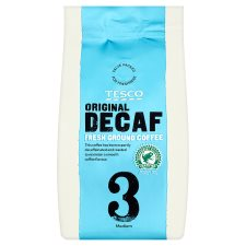 Tesco Original Decaffeinated Ground Coffee 227G