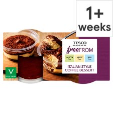 Tesco Free From Italian Coffee Dessert 2 X90g