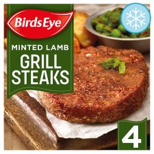 Birds Eye 4 Minted Lambgrills 300G