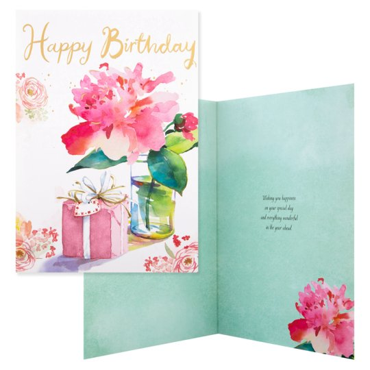 Hallmark Happy Birthday Card