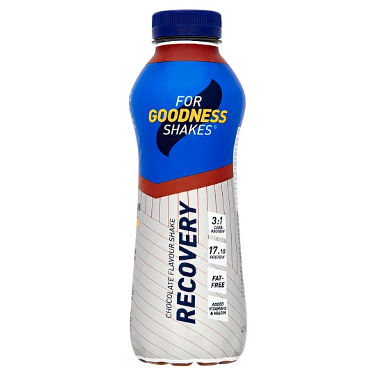For Goodness Shakes Recovery Milk Chocolate 475Ml