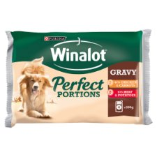 image 1 of Winalot Wet Pouch Chicken And Beef 4 X 100G