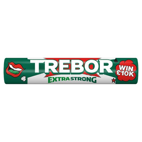 Trebor Extra Strong Mints 41.3 G Roll