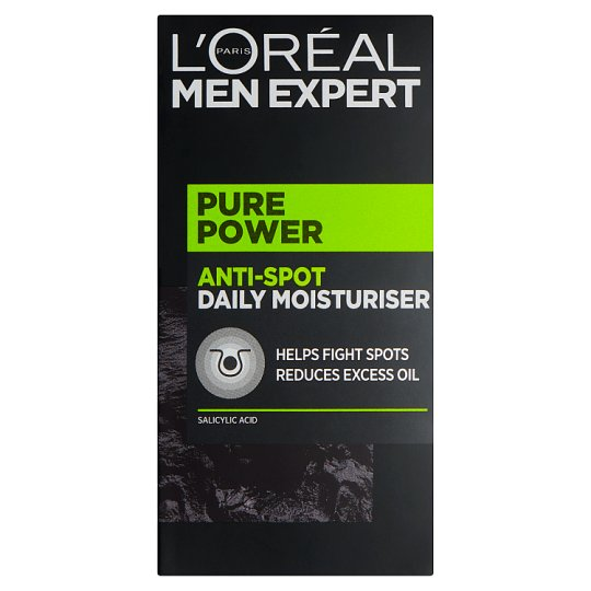 image 1 of L'Oreal Men Expert Pure Power Moisturiser 50Ml