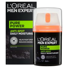 image 2 of L'Oreal Men Expert Pure Power Moisturiser 50Ml