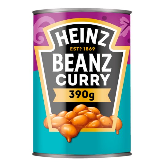 Heinz Baked Beans Curry 390G