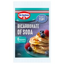 Dr Oetker Bicarbonate Of Soda 6 Sachets 42G