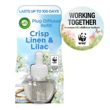 Airwick Air Freshener Crisp Linen Plug In Refill 17 Ml