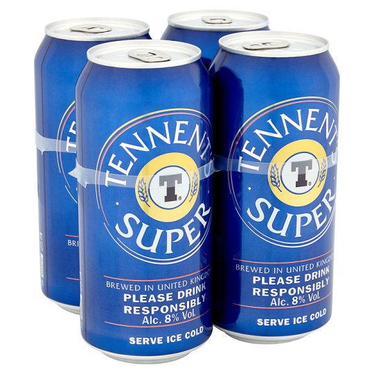 Tennents Super 4X440ml