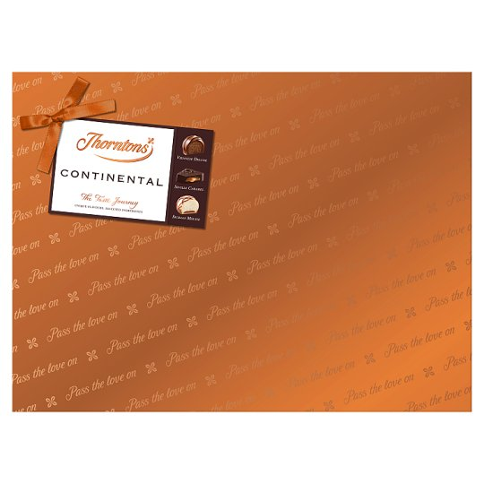 image 1 of Thorntons Continental Chocolates Gift Wrapped 284G