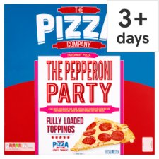 The Pizza Company Pepperoni Party Pizza 802G