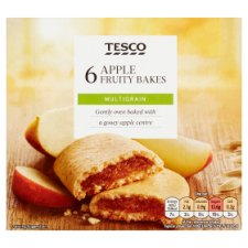Tesco 6 Apple Fruity Bakes 222G