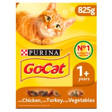 image 1 of Go Cat Turkey And Vegetable 825G