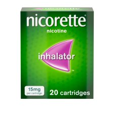 image 1 of Nicorette Inhalator 15Mg 20S Clam