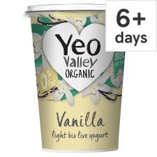 Yeo Valley 0% Fat Vanilla Yogurt 450G