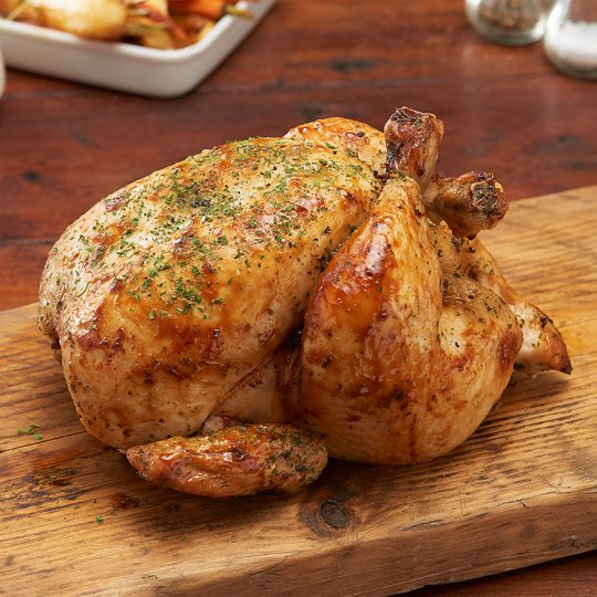 Tesco British Butter Basted Whole Chicken 1.5Kg